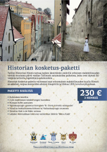 Historian kosketus-paketti
